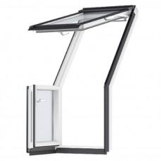Мансардные окна VELUX Premium GEL - Терраса
