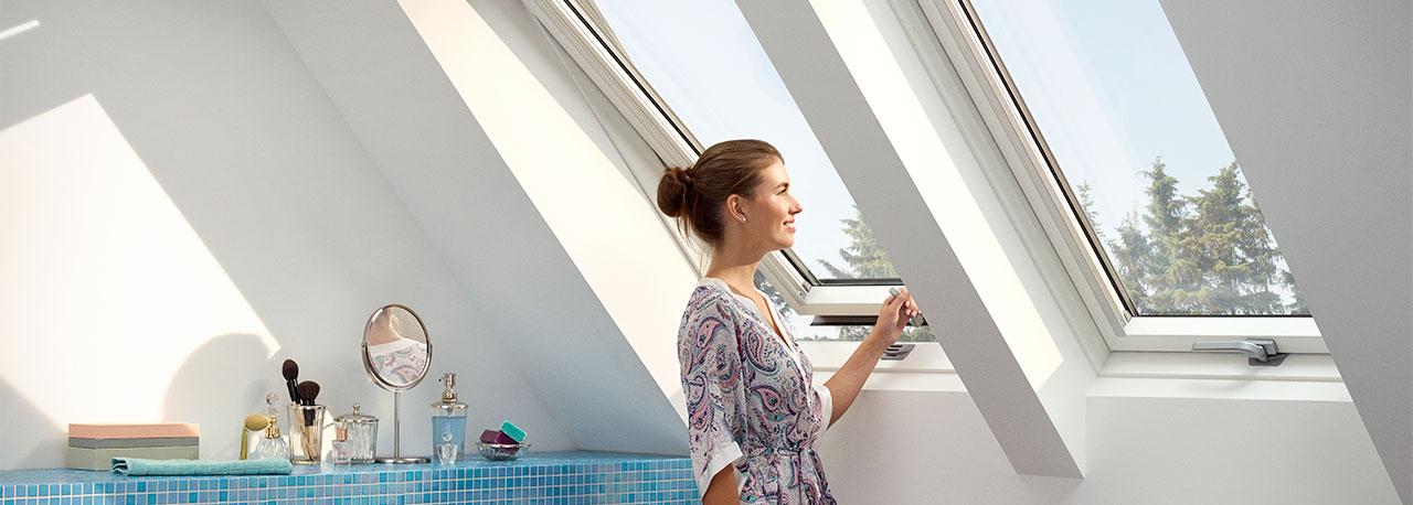 Мансардные пластиковые окна Velux Optima комфорт GLP 0073BIS