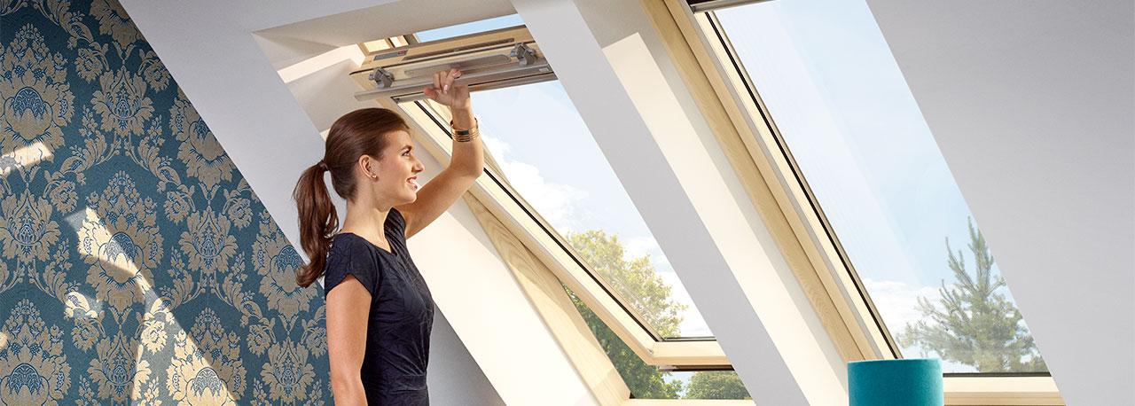 Мансардные окна Velux Optima комфорт GLR 3073IS