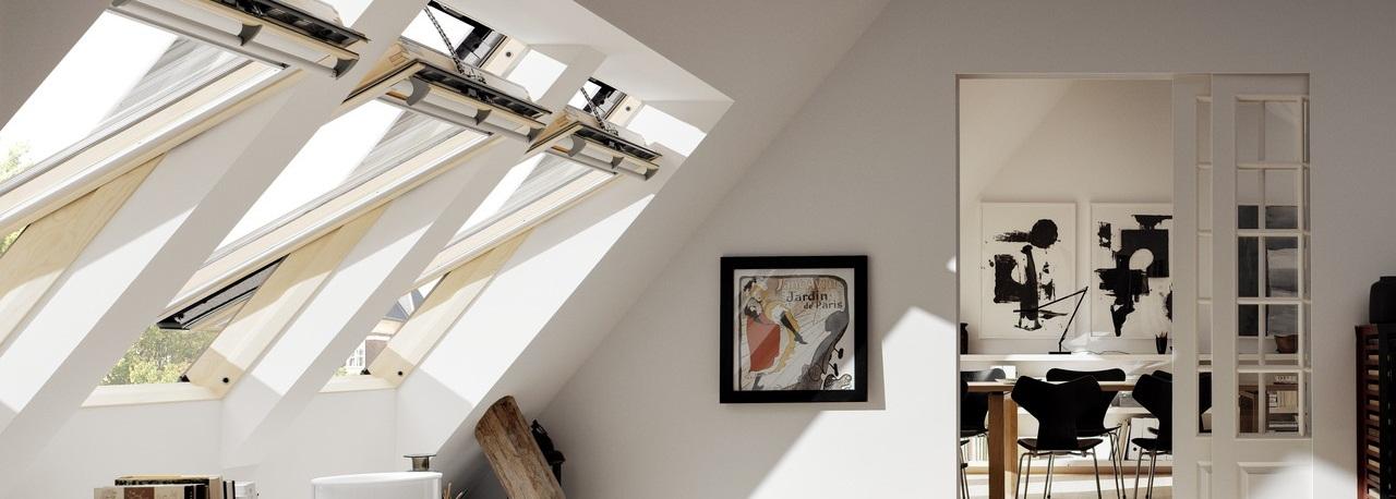 Мансардные окна с дистанционным управлением VELUX Premium INTEGRA