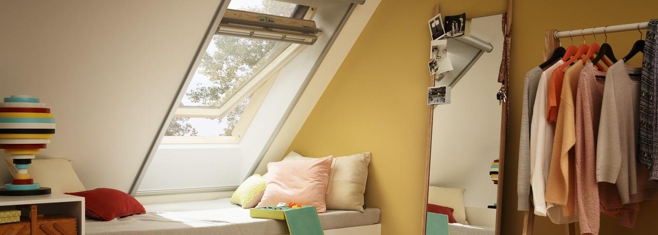 Деревянные мансардные окна Velux Premium GGL